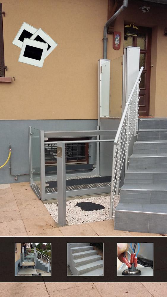 accessibilit alsace photos de chantier pmr erp accessibilit mobilit r duite handicap. Black Bedroom Furniture Sets. Home Design Ideas